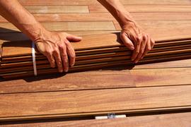 IPE Deck Installer