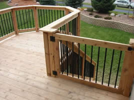 Multi-Level Deck Gate