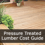 PT Lumber Deck Cost Guide
