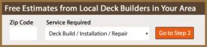 Deck Builders Near Me Estimates
