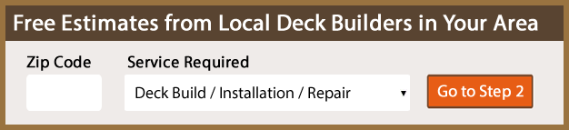 Deck Builders Near My Area Estimates