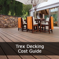 Trex Decking Installation Cost Price Guide Deck