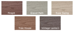 Trex Transcend Classic Earth Tones Colors