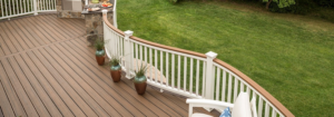 Deck Curved Railing Costs