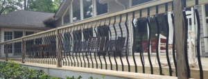 Deck Railing Baroque Balusters