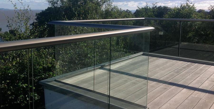 Deck Railing Glass Balustrade