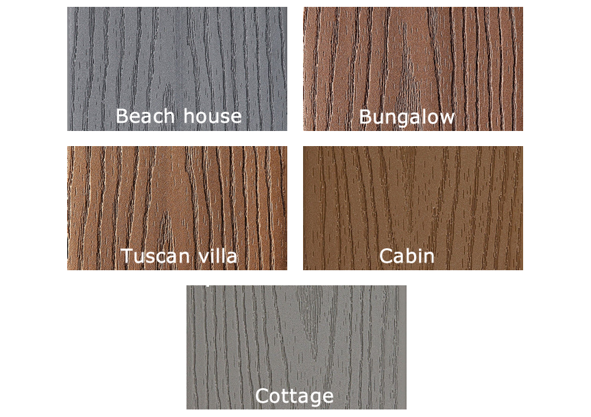 Fiberon Good Life Deck Colors