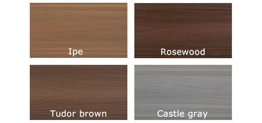 Fiberon Concordia - Horizon Deck Colors