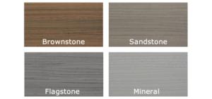 Fiberon Paramount PVC Deck Colors