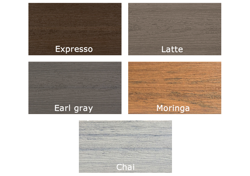 Fiberon Sanctuary Deck Colors