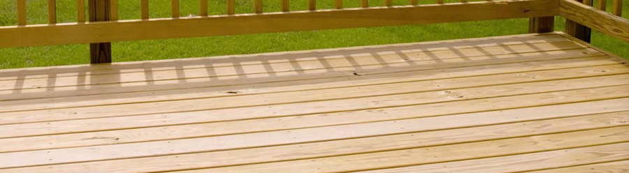 Pressure Treated Lumber for your Deck