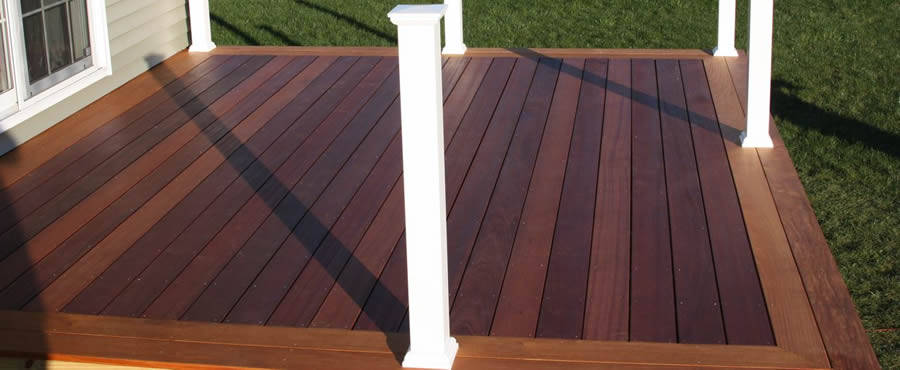 PVC Deck Picture Framing