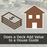 Does a Deck Add Value to a House or Home Guide