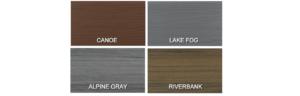 MoistureShield Elevate Deck Colors
