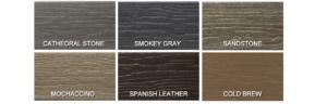 MoistureShield Vision Deck Colors