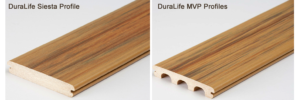 DuraLife Decking Board Profiles - Siesta and MVP