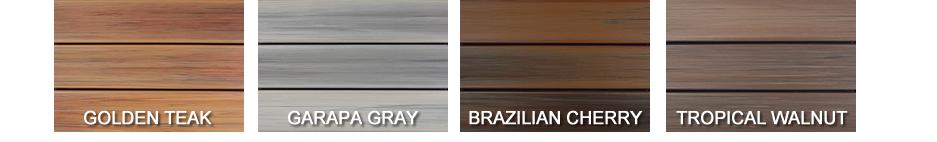 DuraLife Hardwoods Deck Colors