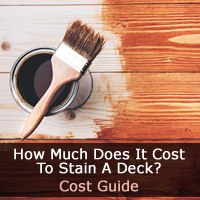 How Much Does It Cost To Stain A Deck Guide