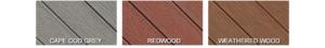 Envision EverGrain Deck Colors